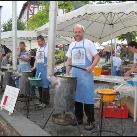 Volkmar Klein am Museumsfest Burbach