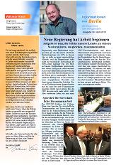Informationen aus Berlin Nr. 30